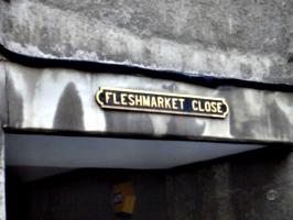 [picture: Fleshmarket Close]