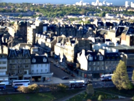 [picture: Edinburgh from the castle 5]