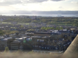 [picture: Edinburgh from the castle 7]