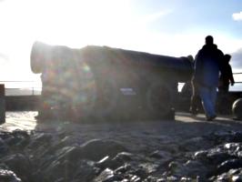[picture: Mons Meg in the Sunlight]