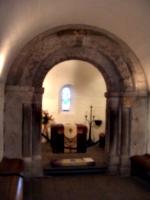 [picture: Saint Margaret's Chapel: the sanctuary]