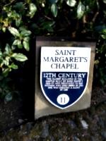 [picture: Saint Margaret's Chapel: The Sign]