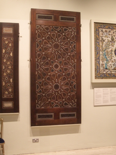 [Picture: Panels from Mosque Pulpit]