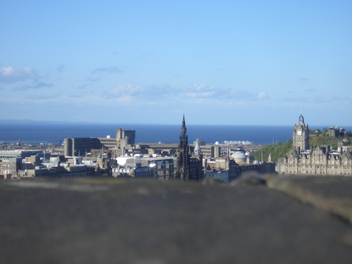 [Picture: Edinburgh from the castle 3]