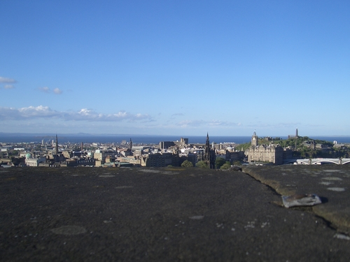 [Picture: Edinburgh from the castle 4]