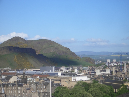 [Picture: Edinburgh from the castle 6]