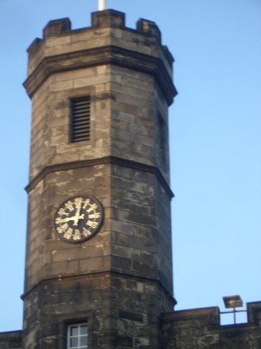 [Picture: Clock tower]
