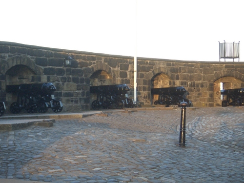 [Picture: Lots of cannons]