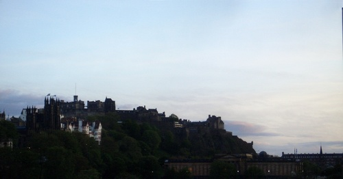 [Picture: Edinburgh Castle from Edinburgh]