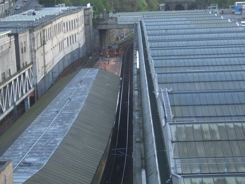 [Picture: Edinburgh railway station]