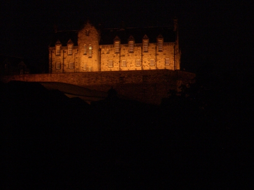 [Picture: Edinburgh Castle at night 3]
