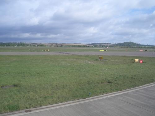 [Picture: Edinburgh airport runway]