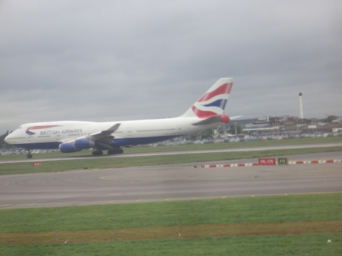 [Picture: A British Airways plane]