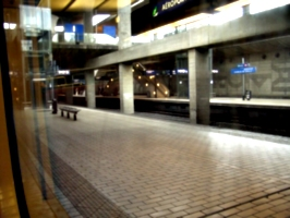 [picture: Railway station at Charles de Gaulle airport 2]