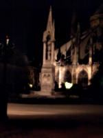 [picture: By Notre Dame at night]