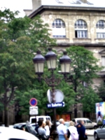 [picture: Toilettes and a lamp-post]