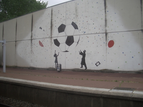 [Picture: World cup mural]