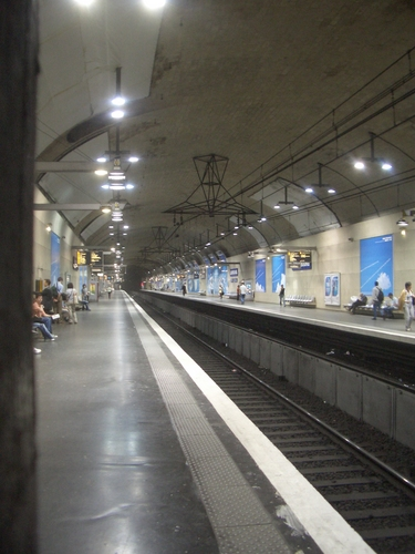 [Picture: Metro station]