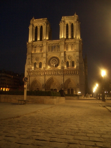 [Picture: Notre Dame at night 3]