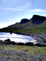 [picture: Staffin Bay]