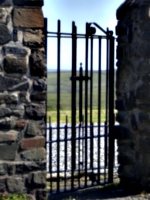 [picture: Cemetary gate 2]