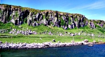 [picture: Staffin Cliffs]