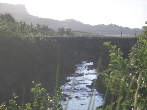 [Picture: Bridge over a brook]