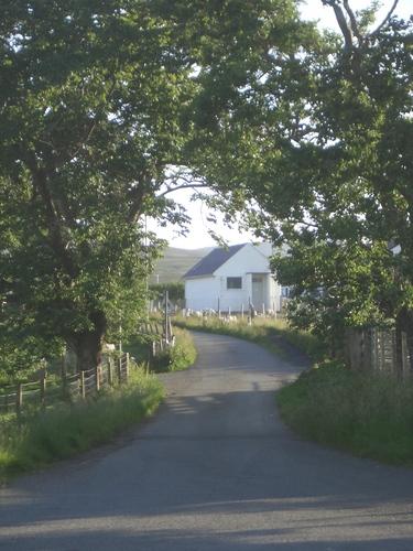 [Picture: Inviting Scottish lane]