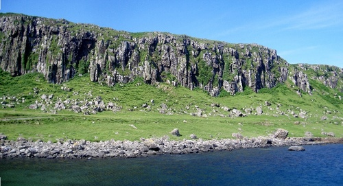 [Picture: Staffin Cliffs]
