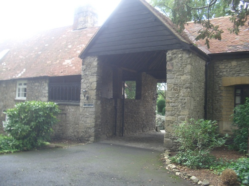 [Picture: The old stables]