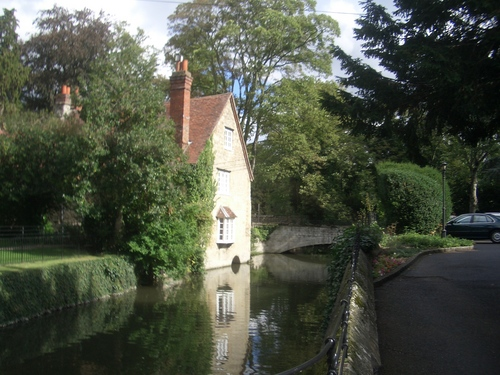 [Picture: The mill-stream]
