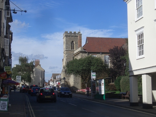 [Picture: Abingdon street]
