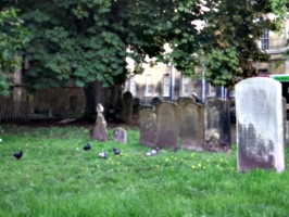 [picture: Oxford graveyard]
