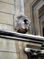 [picture: Stone dragon architectural ornament]