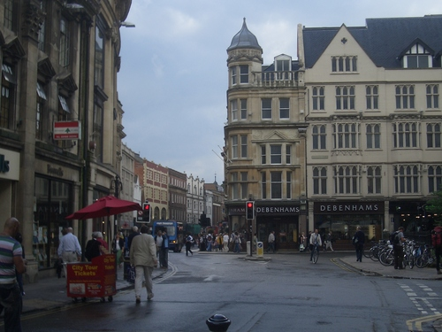 [Picture: Broad Street, Oxford]