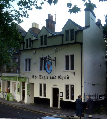 [Picture: The Eagle and Child]