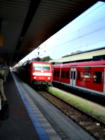 [picture: Train arriving at the platform]