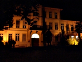[picture: Building at night]