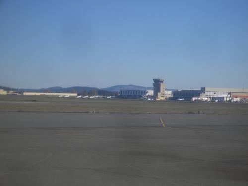 [Picture: Victoria airport]