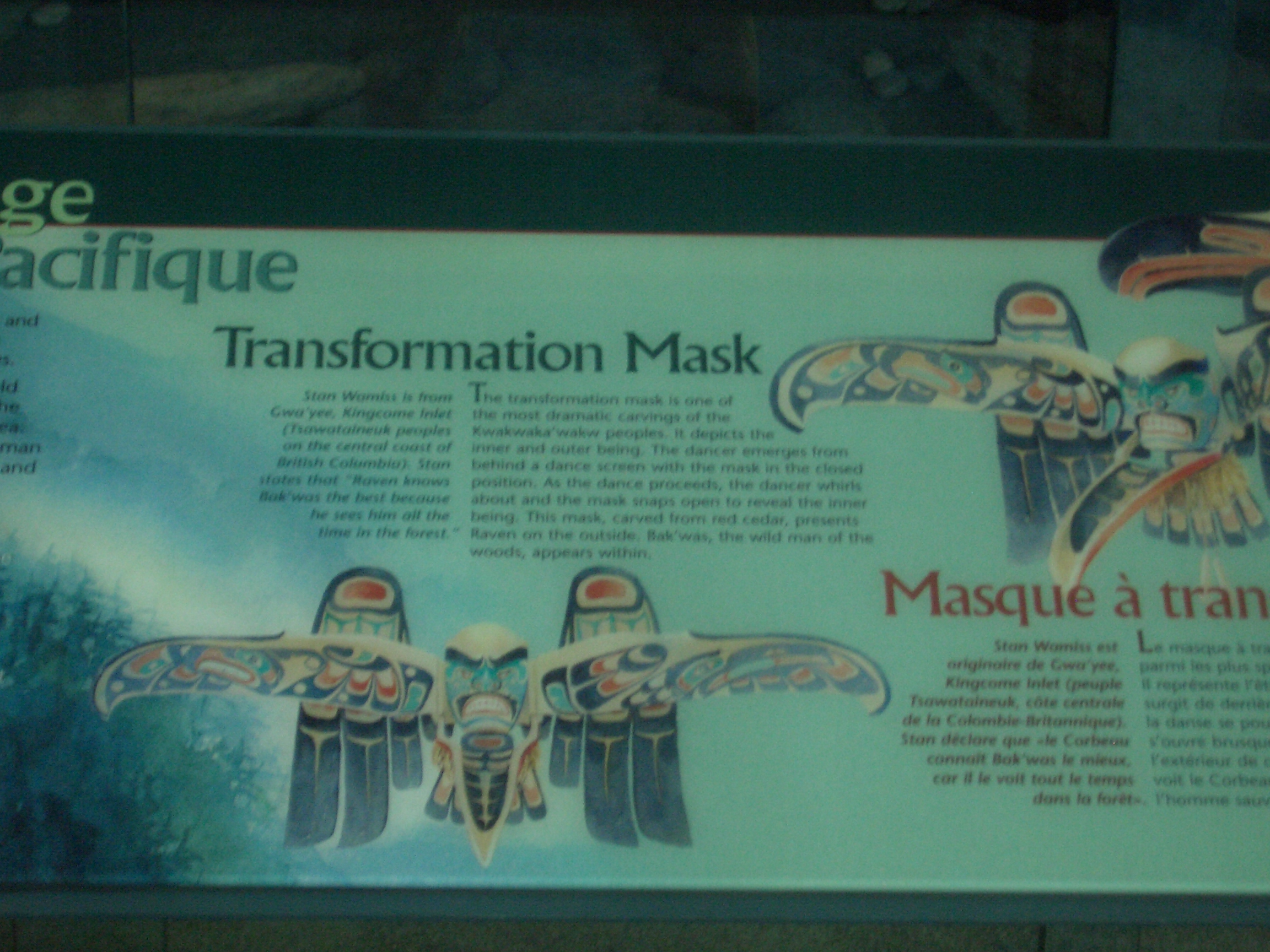 [Picture: Caption for Transformation Mask]