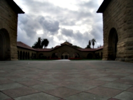 [picture: Campus courtyard]