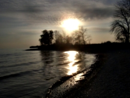 [picture: Point Petre Sunset 3]