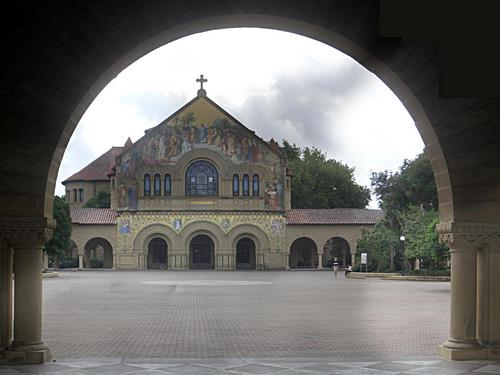 [Picture: Stanford University Chapel]