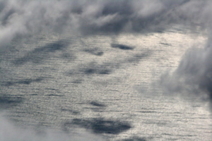 [picture: clouds from the 'plane 9]