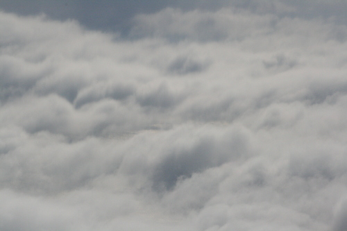 [Picture: clouds from the 'plane 6]