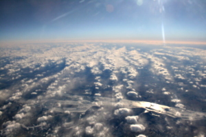 [picture: Clouds from the 'plane 4]