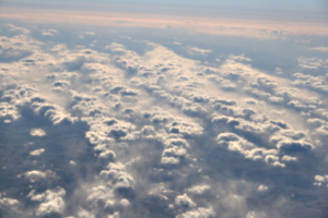 [picture: Clouds from the 'plane 8]