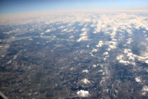 [picture: Clouds from the 'plane 10]