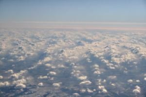 [picture: Clouds from the 'plane 12]