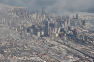 [picture: Downtown Chicago: aerial view 7]
